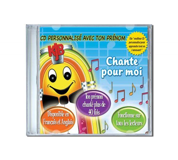 cd avec prénom personnalisé enfant