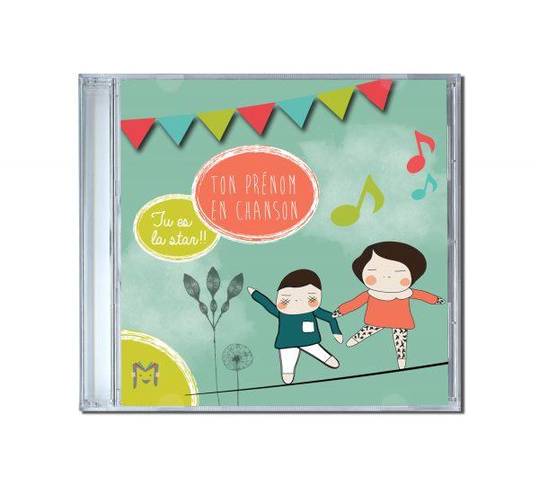 album cd personnalisé enfant